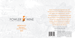 2019 Meritage Right Bank Blend